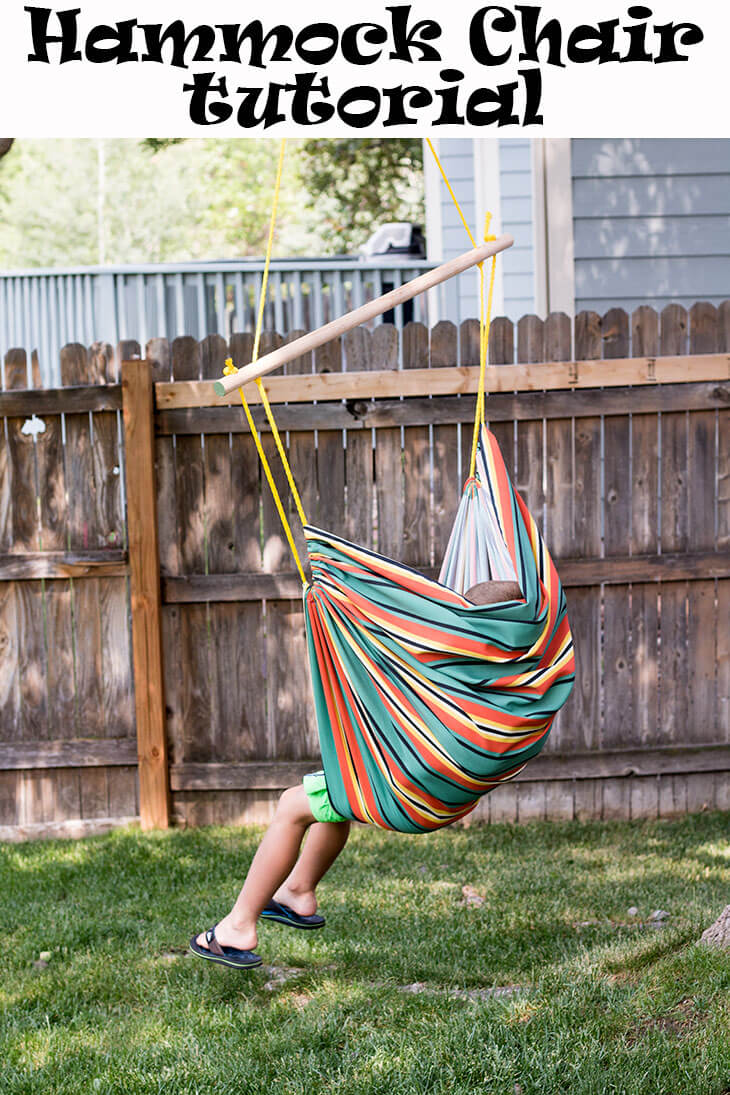 DIY Hanging Chair tutorial