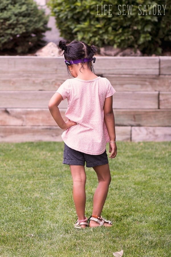 free sewing pattern swing top shirt