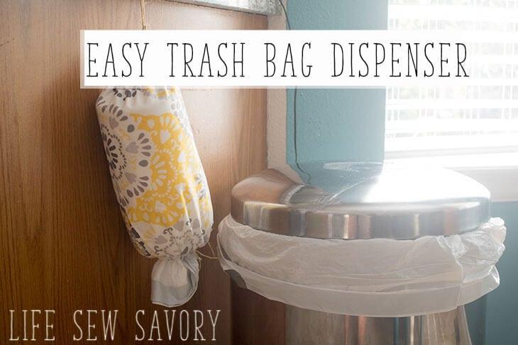 easy trash bag dispenser