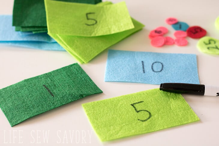 easy felt money DIY