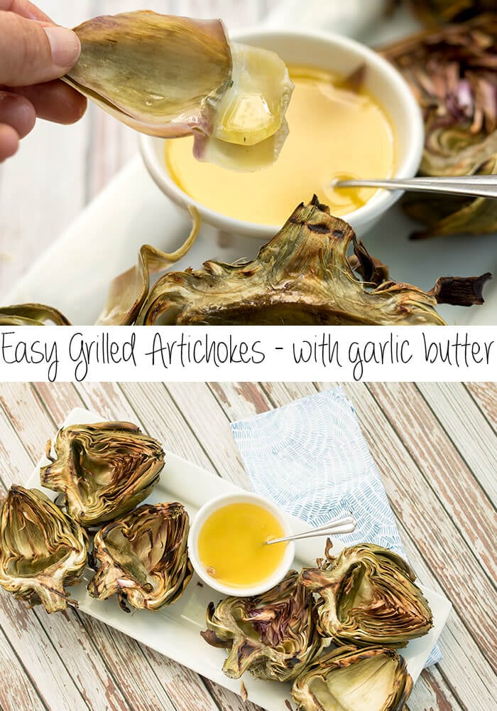 how to grill artichokes easy grilling recipe from Life Sew Savory