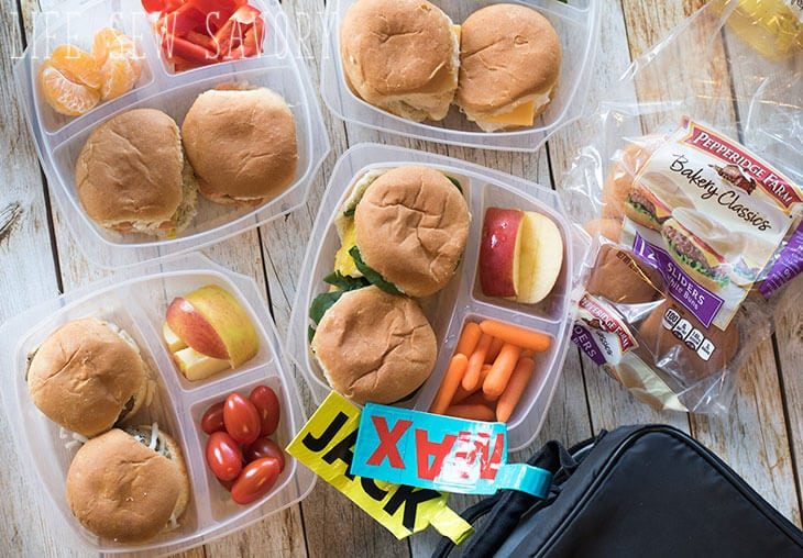 easy slider meals for back to school