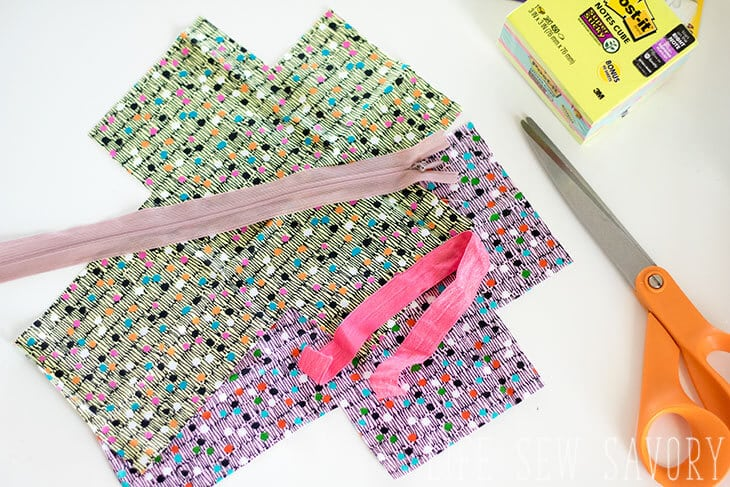 zipper cube sewing tutorial