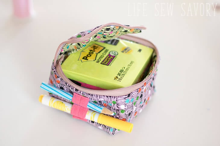 Post-it® zipper cube