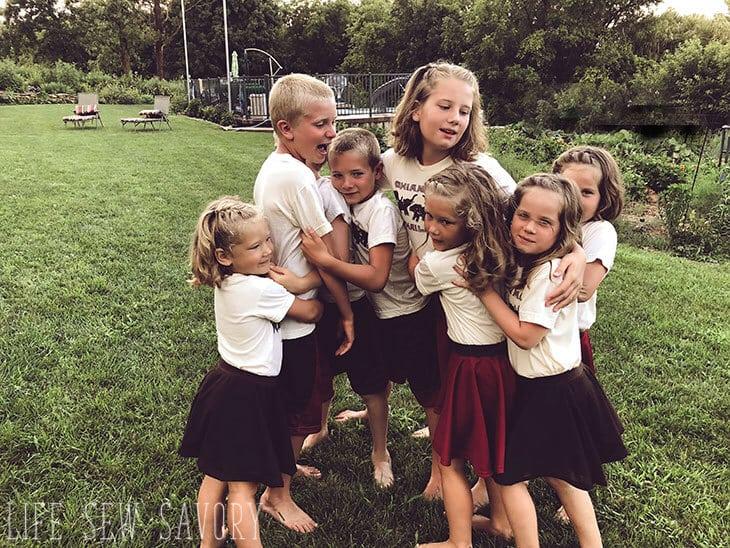 cousin family photos