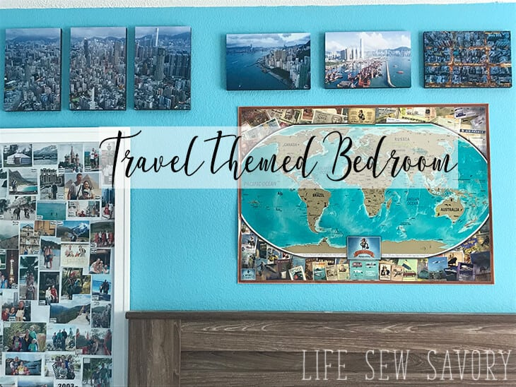 travel themed bedroom