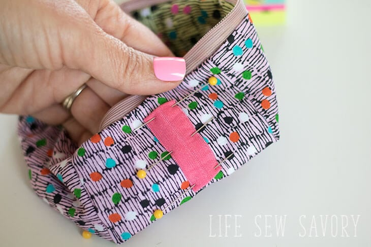 cube zipper case