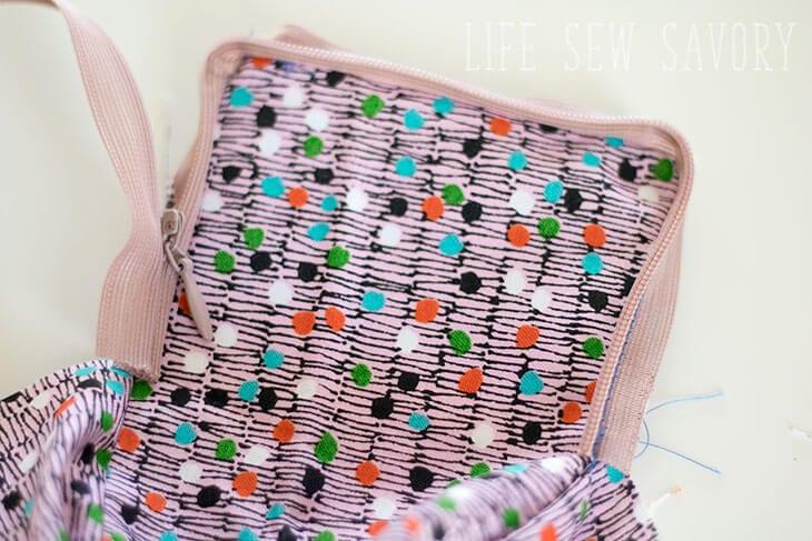 zipper case sewing tutorial