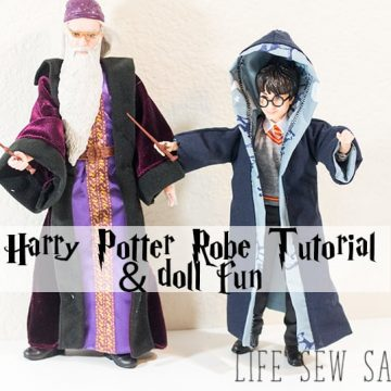 Harry Potter Style Robe Free Pattern