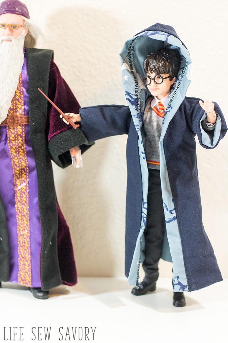 Harry Potter Style Robe Free Pattern