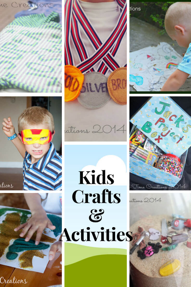Kids activities and fun ideas from Life Sew Savory