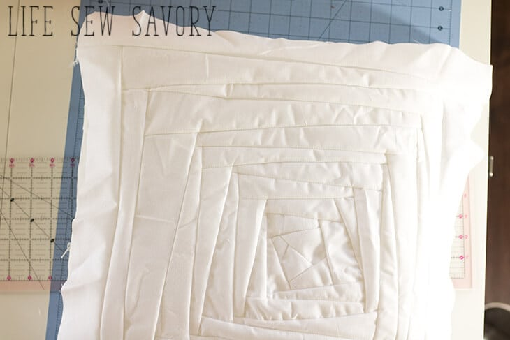 Sew a halloween pillow case