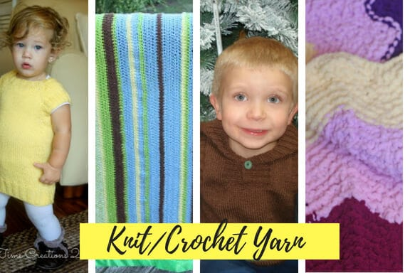 knit - crochet projects