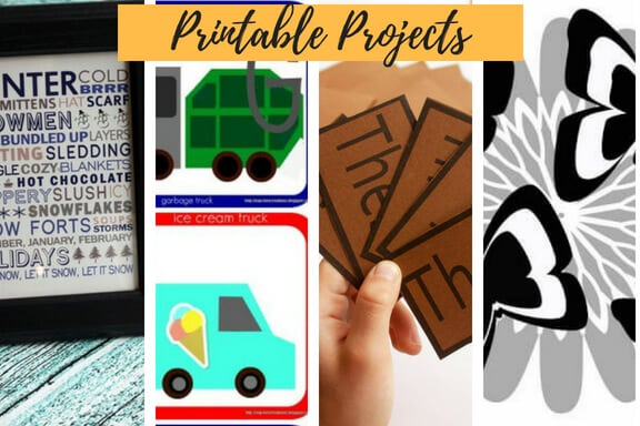 Printable projects