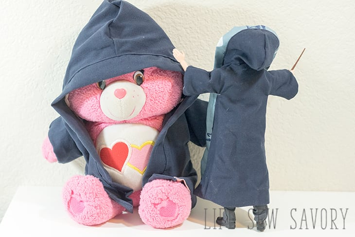 photograph relating to Free Printable Stuffed Animal Patterns named No cost Printable Doll Apparel Designs - Harry Potter Gown