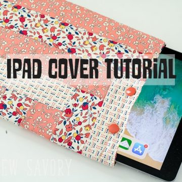 How to make an Ipad case