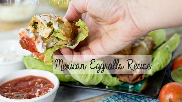 Southwest style Eggrolls recipe