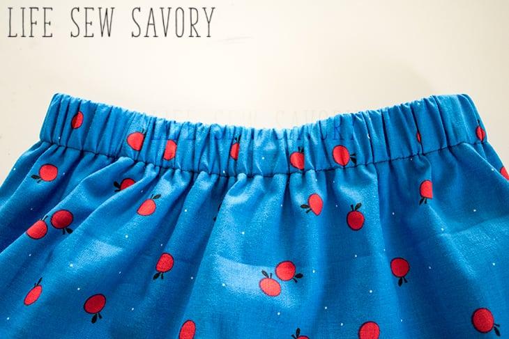 Layered Skirt pattern