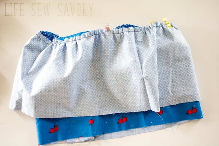 tiered skirt instructions