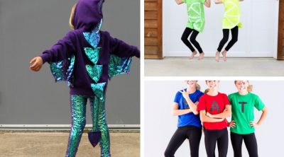 easy DIY Halloween Costumes with Leggings from Life Sew Savory