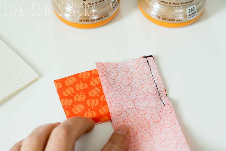 cold drink cozy sewing tutorial