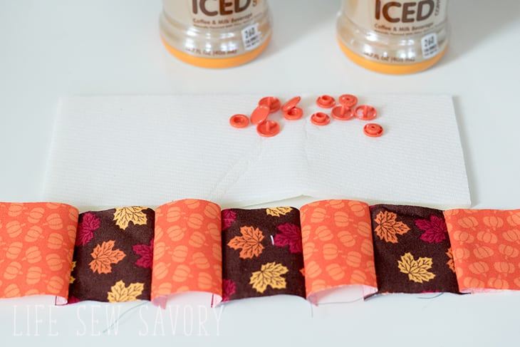 quilted drink cozy sewing tutorial