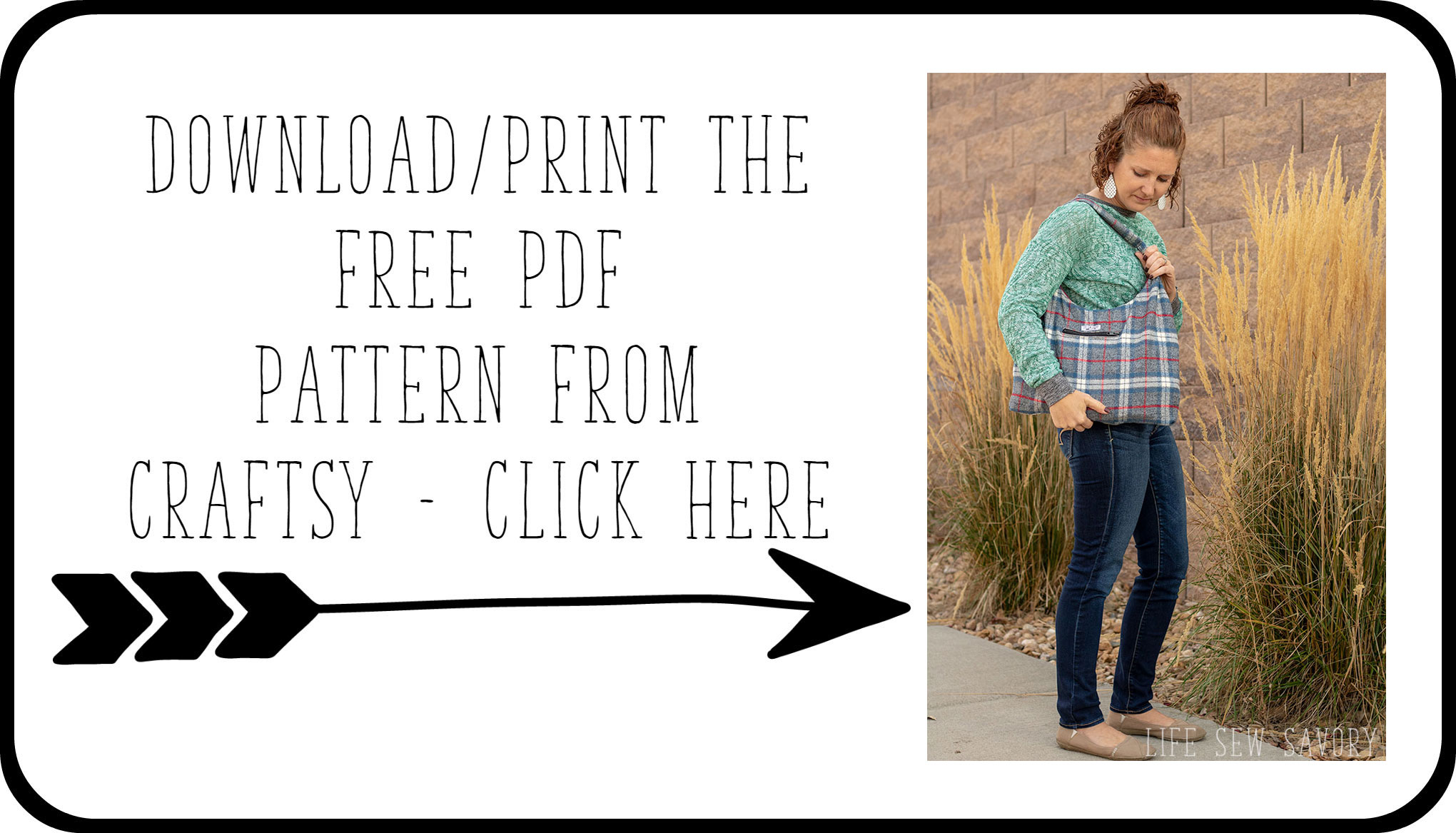 photograph about Printable Sewing Patterns named free of charge purse sewing behavior - Wool Bag - Daily life Sew Savory