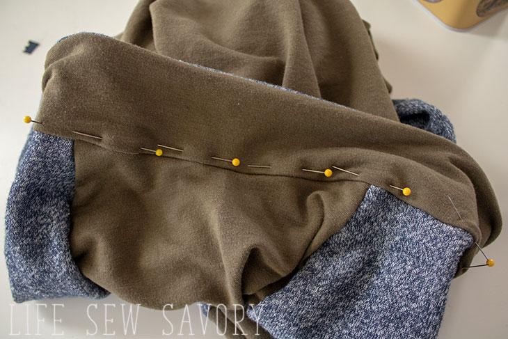 how to cut shirt collar