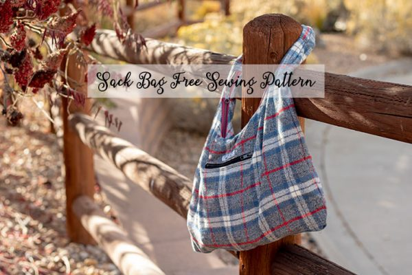 free purse sewing pattern - Wool Bag