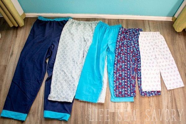 pajama pants pattern free pdf pattern