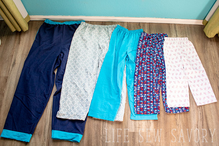 Pajama Pants Pattern - Free PDF for the Whole Family - Life