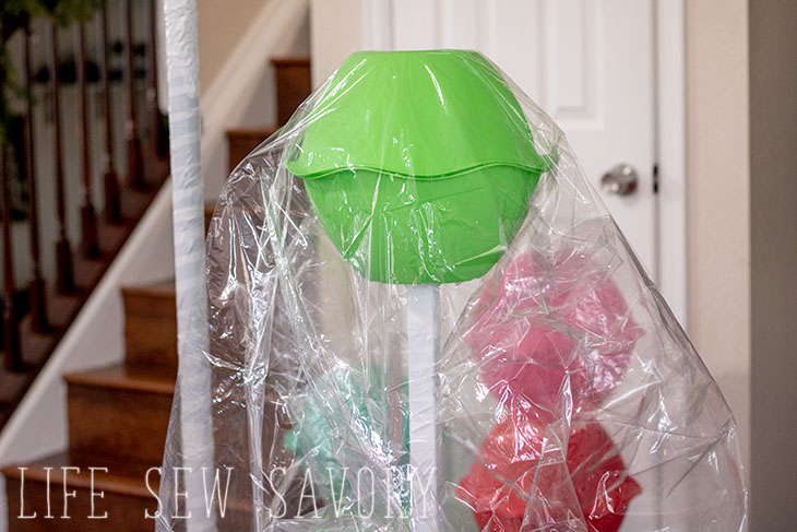 Giant lollipop decorations