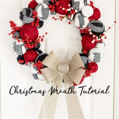 How to make a Christmas Wreath