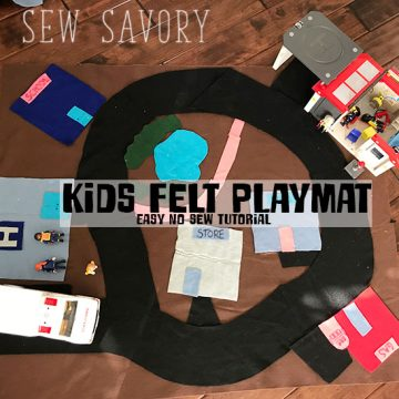 felt playmat for kids
