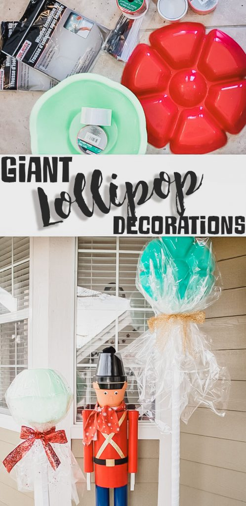 Giant lollipop decorations how to make giant candy from Life Sew savory