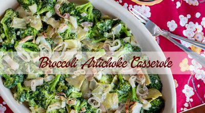 broccoli artichoke casserole recipe