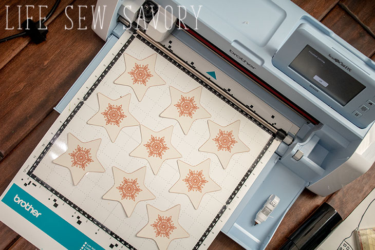 star garland and free cut file