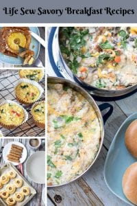 Life Sew Savory Breakfast Recipes