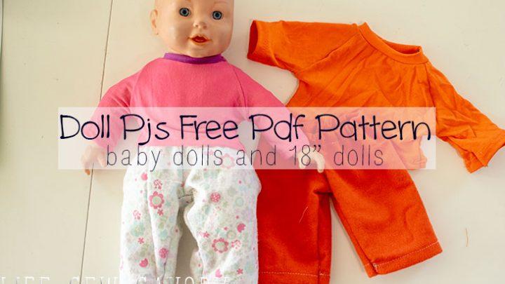 Baby Doll Pj Pattern