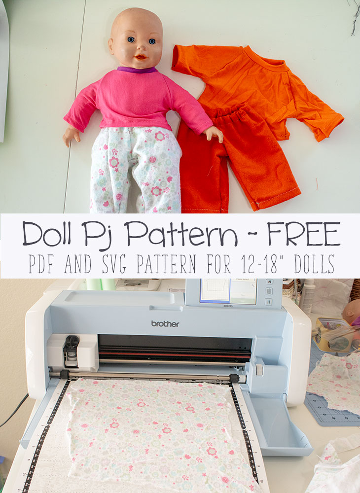 picture regarding 18 Doll Clothes Patterns Free Printable referred to as Pj Trousers! cost-free doll dresses sewing practices - Everyday living Sew Savory
