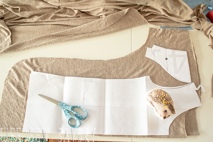 How to sew a shirt from scratch