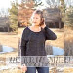 Make your own sweater – sewing tutorial