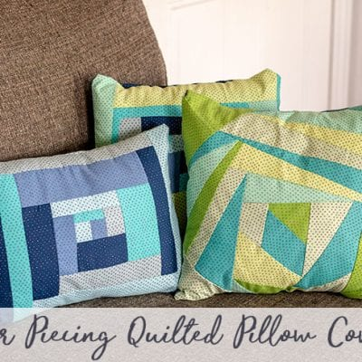 Paper Pieced Quilt Pattern – Throw Pillow