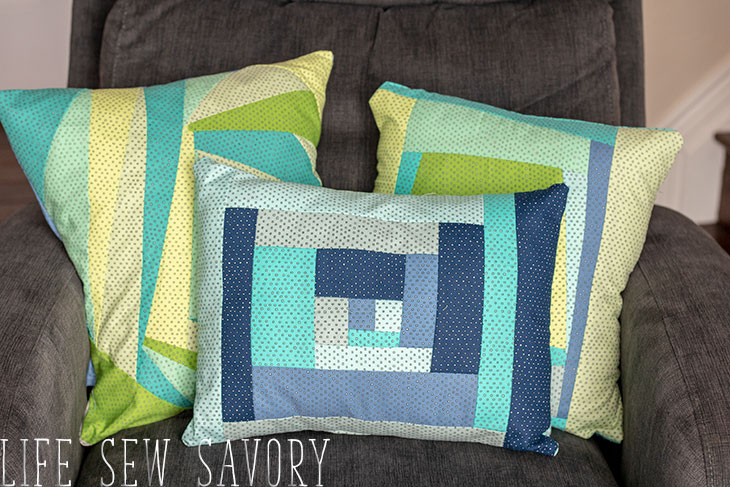 Paper Pieced Quilt Pattern - Throw Pillow