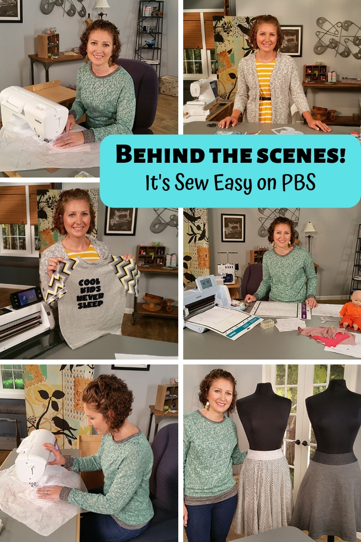 It's Sew Easy on PBS an inside look from Life Sew Savory