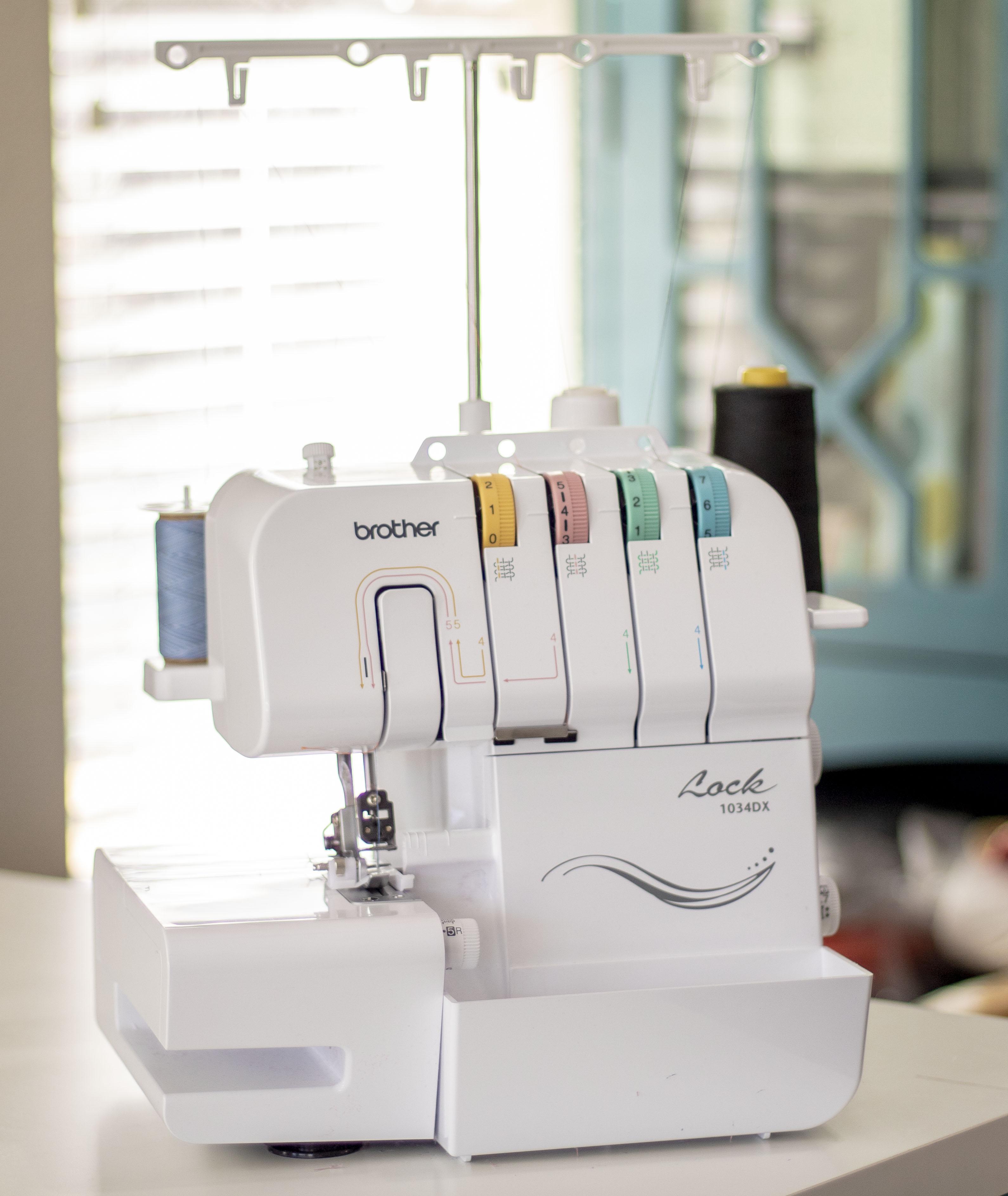 Online sewing class serger basics