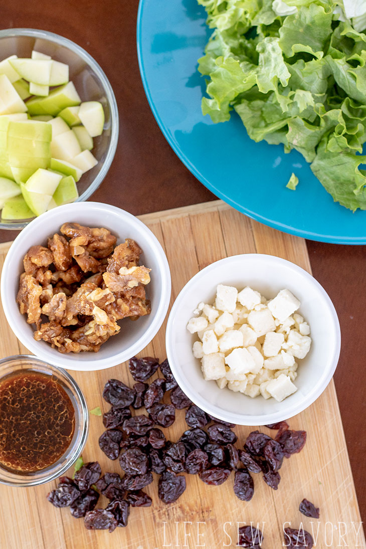 easy winter salad with ingredients you can find all year long