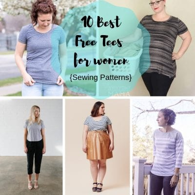 Free Sewing Patterns – Best Womens T Shirts