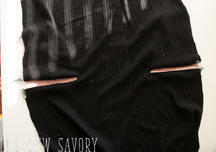 sew a cardigan