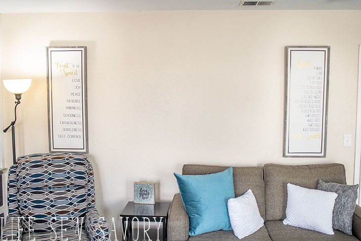 framed scripture art for home decor